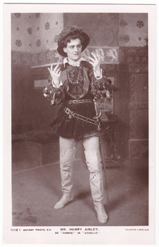 "Henry Ainley as Cassio ""Othello"" Rotary 1113 I"