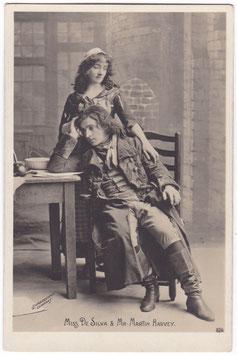 Martin Harvey and Miss N De Silva. Rotophot 024