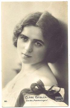 Clare Gabler. Meistersingern. Hahn Nachel 312