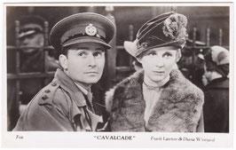 "Frank Lawton and Diana Wynyard ""Cavalcade""  Filmshots"