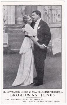 Broadway Jones. Seymour Hicks and Ellaline Terriss. Lyceum Theatre