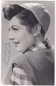 Diane Hart. Signed photograph.