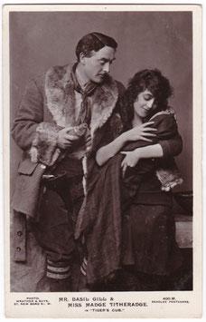 """Basil Gill and Madge Titheradge """"Tiger's Cub"""" Beagles 400 M"""