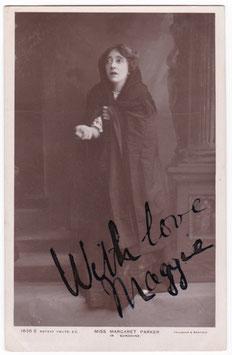 "Margaret Parker ""Sunshine"" Rotary 1835 E. Signed postcard"