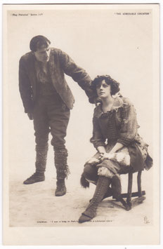 "H B Irving and Irene Vanbrugh ""The Admirable Crichton"" Tucks 11"
