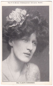 Gladys Vanderzee. F R Benson Shakespearean Co. North