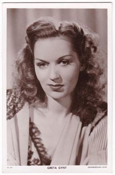 Greta Gynt. Picturegoer W 373