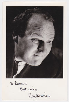 Roy Kinnear. Signed photograph