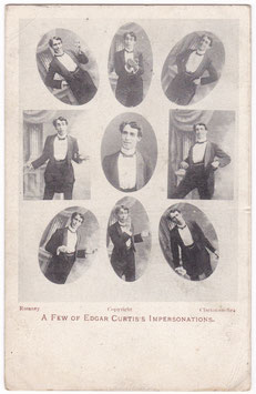 Edgar Curtis. Impersonator