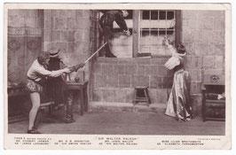 "Lewis Waller, Lilian Braithwaite ""Sir Walter Raleigh"" Rot. 7489 E"