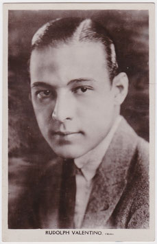 Rudolph Valentino. Picturegoer 23