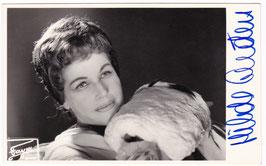 Hilde Gueden. Soprano. Signed postcard