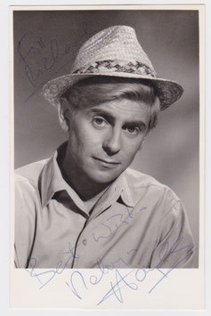 Melvyn Hayes. Signed photograph