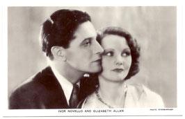 Ivor Novello and Elizabeth Allan. Film Partners P41