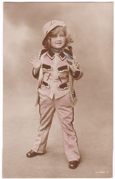 Joan. Daughter of Gladys Cooper. Rotary A 1484-2