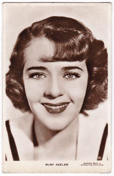 Ruby Keeler. Warner Bros 81