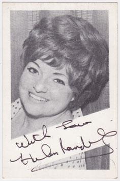 Helen Randell. Signed postcard