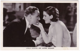 Leslie Howard and Norma Shearer. Film Partners P 22