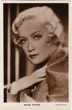 Miriam Hopkins. Paramount Pictures