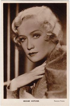 Miriam Hopkins. Paramount Pictures