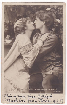 "Evelyn Millard, Henry Ainley ""Paolo & Francesca"" Beagles 741"