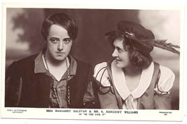 "Margaret Halstan and E Harcourt Williams ""As You Like It"" Guttenberg 531"