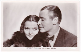 Herbert Marshall and Sylvia Sidney. Film partners P 191