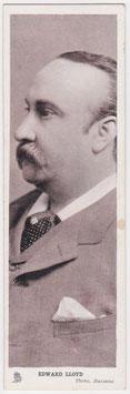 Edward Lloyd. Tenor. Tucks Series 2 bookmark