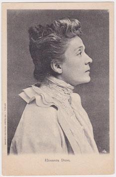 Eleonora Duse. Italian postcard