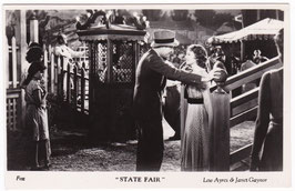"Lew Ayres and Janet Gaynor ""State Fair"" Filmshots"