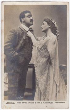 Ethel Irving and G P Huntley. Beagles 453 L