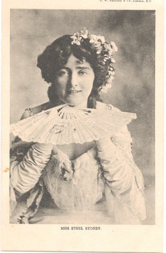 Ethel Sydney. C W Faulkner postcard