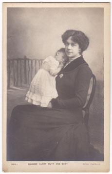 Clara Butt and baby. Rotary 2619 I