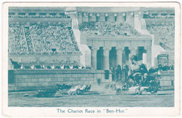 """Ben Hur"" The Chariot Race"