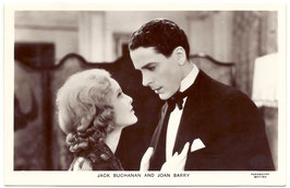 Jack Buchanan and Joan Barry. Film Partners P 115