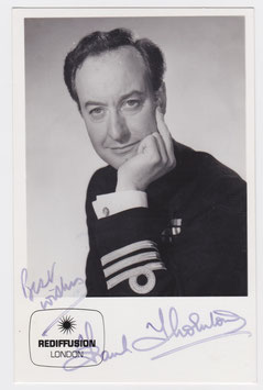 Frank Thornton. Signed photograph