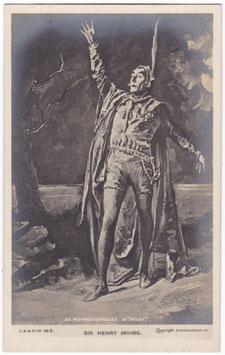 """Henry Irving """"Faust"""" Beagles 191 E"""