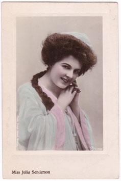 Julia Sanderson. Aristophot E 1896