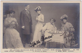 Elfreda Clement and Mary Venant. Rapid 1913. Signed postcard