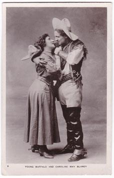 Young Buffalo and Caroline May Blaney. No. 3
