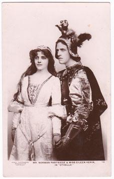 "Eileen Kerin and Norman Partriege ""Othello"" Guttenberg 116"