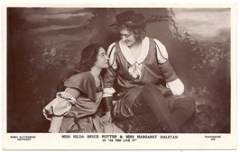 "Hilda Bruce Potter and Margaret Halstan ""As You Like It"" Guttenberg 532"