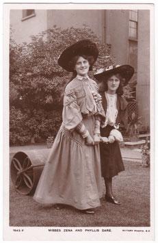 Zena and Phyylis Dare. Rotary 1843 F