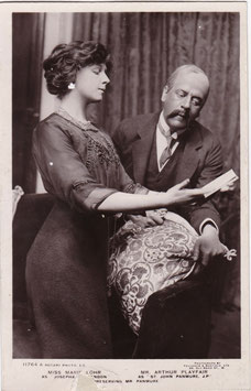 "Marie Lohr and Arthur Playfair ""Preserving Mr Panmure"" Rotary 11764 A"