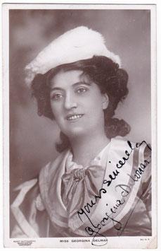 Georgina Delmar. Guttenberg 15 R. Signed postcard