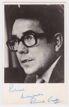 Ronnie Corbett. Signed photograph.