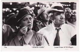 "Will Rogers and Louise Dresser ""State Fair"" ""Filmshots"""