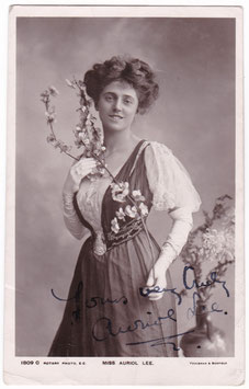 Auriol Lee. Rotary 1809 C. Signed postcard