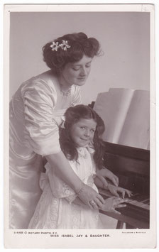 Isabel Jay and daughter. Rotary 11448 C