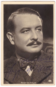 Sigmund Breuer. A 2896/1. Signed postcard